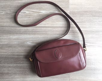 Authentic Vintage Cartier crossbody bag