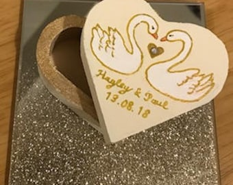 Wedding Ring box - Personalised - Gift