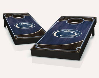 Penn State Nittany Lions Wood Cornhole Set with Bags