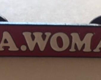 LA Woman enamel pin
