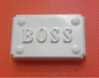 Soap mold, Icetray, Form for chocolate, Clean, the Chief, the Boss, the Power
