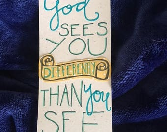 God Sees You Differently Bookmark