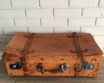 Vintage English Suitcase