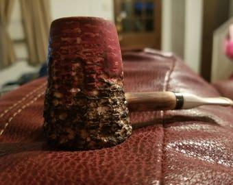 Custom corn cob volcano pipe