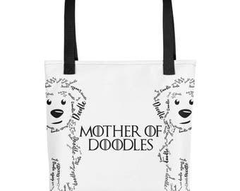 Mother of Doodles Tote bag- GoldenDoodle LabraDoodle SheepaDoodle BerneDoodle