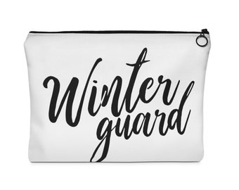 Winter Guard Pink Carry All Pouch  - 2 Sizes, Color Guard, Winterguard, ColorGuard