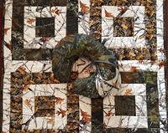 Camouflage Baby Quilt Set