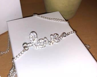 Butterfly Necklace - Cute Necklace - Butterfly Gift - Butterfly Jewelry - Diamond