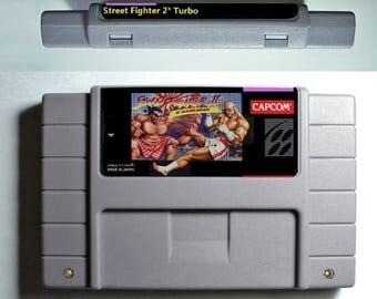 Street Fighter 2 Turbo (SNES)