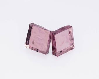 Purple Shimmer Earrings