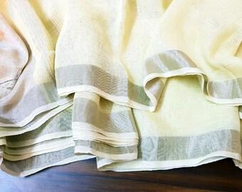 Pure Linen Sarees, Linen Sari, Linen Sarees, Sarees