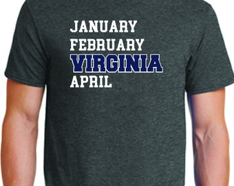 March Madness Virginia Basketball T-shirt #marchmadness