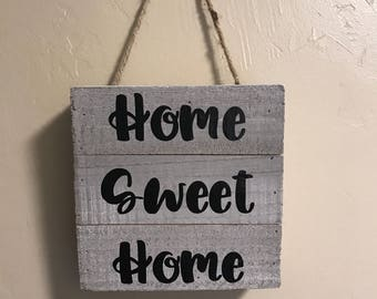 Home Sweet Home Hanger