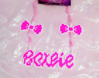 PLUR WIZARD rave EDM Halloween Music Festival Necklace Bobbi bow tie
