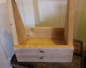 Wooden Tote