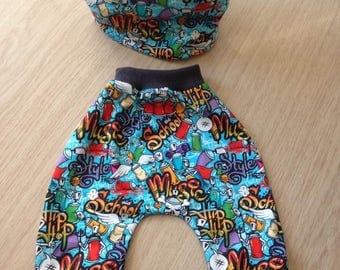 Harem baby pants harem pants