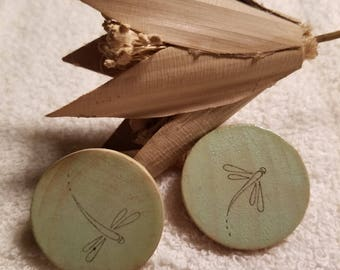 Sweet dragonfly magnets, set of two