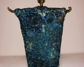 The Blue Man Statue