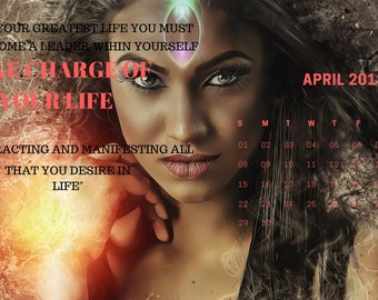 Law of Attraction Spiritual Healing & Manifesting Quote 2018 Calendar