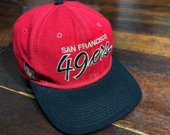 Vintage 90s San Francisco 49ers Cap