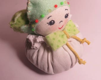 Angel series Pouf with Lavender