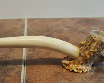 Hand Crafted Whitetail deer antler art.