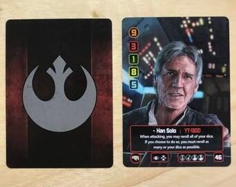 Han Solo X-Wing Alt Art Card