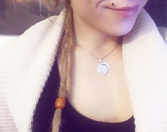 Human Hair Dreadlocks extension (available also as clip on)