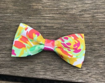 Floral Cat Bow Tie