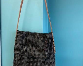 Tweed Sleeve Handbag