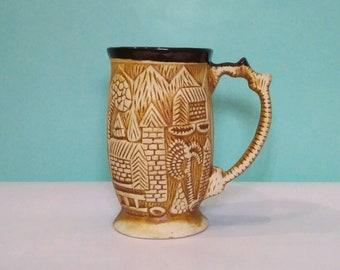 Handmade Antique Mug