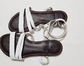 Cayasso Leather Strap Sandals