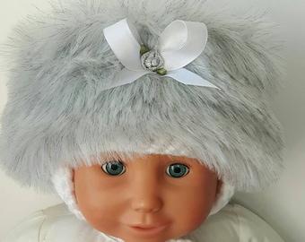 Baby Girls Cossack Hat