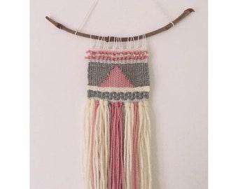 Handmade weaved wall hanging