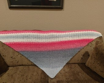 Crocheted wrap/shawl