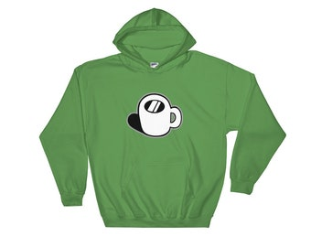 Coffee cup LOGO Hooded Sweatshirt