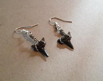 Lemon Shark Teeth Earrings