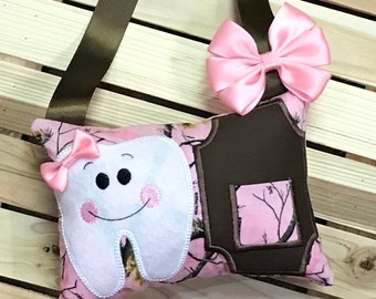 Personalized Tooth Fairy Pillow-W0002