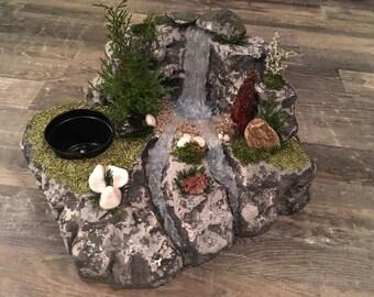 Handmade Waterfall Landscape Sculpture
