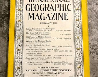 February 1935 National Geographic Magazine