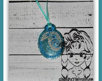 Poly Princess PENDaNT NECKLaCE, Holidays Halloween Christmas Birthdays - INSTANT Download Machine Embroidery Design by Carrie