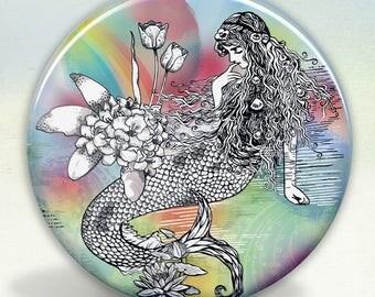 Mermaid La Luxure pocket mirror tartx