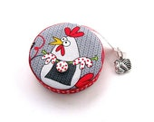 Measuring Tape Knitting Chickens Retractable Tape Measure