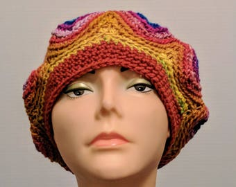 Slouchy Beanie Crochet HatFree Shipping in the USA
