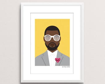 Kanye Print