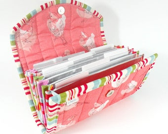 COUPON / EXPENSE / RECEIPT Organizer - Budgie - Coupon Organizer Coupon Holder Cash Budget Parakeet Receipt Organizer Organiser