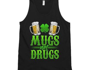 St Paddy's Patricks Day Funny Beer Mug Classic tank top (unisex)