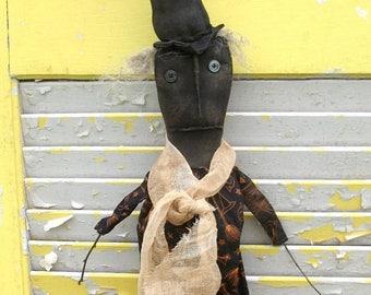 CustomerAppreciationSale Primitive Halloween Stick Witch