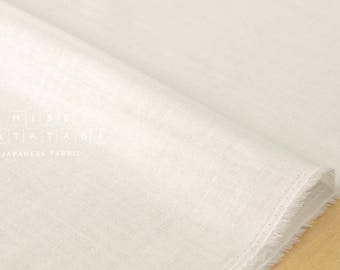 Japanese Fabric Kokka Oeko-Tex solid double gauze - colour 1 - 50cm