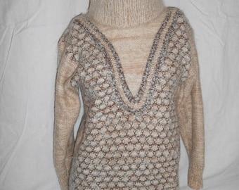 Closing Shop 40%off SALE Vintage Knit Sweater, Women's Sweater